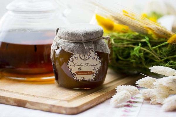 Natürlicher brauner Honig