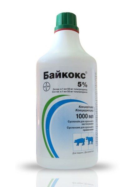 Baykoks von 5% in einer Flasche von 1000 ml