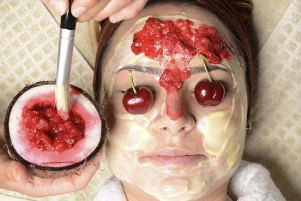 Cherry hat breite Anwendung in der Kosmetologie gefunden