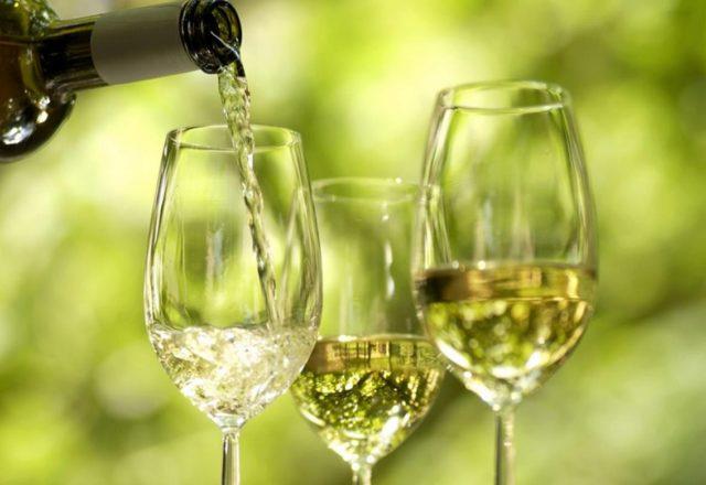 Weißwein zu Hause